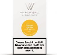 von Erl Podpack eLiquid MangoApricot 18mg/ml Nikotin