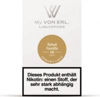 von Erl Podpack eLiquid TabakVanilla 18mg/ml Nikotin