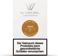 von Erl Podpack eLiquid Tabak ohne Nikotin