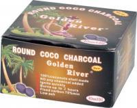 "Wasserpfeifenkohle ""Golden River Coco"" 40mm"