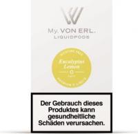 von Erl Podpack eLiquid Eucalyptus Lemon ohne Nikotin