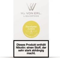 von Erl Podpack eLiquid Eucalyptus Lemon 9mg/ml Nikotin