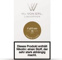 von Erl Podpack eLiquid CaféLatte 18mg/ml Nikotin