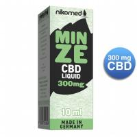 NIKOLIQUIDS Mint 300 mg CBD