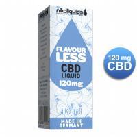 NIKOLIQUIDS ohne Aroma 120 mg CBD