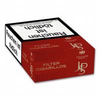 JPS Red Filter Cigarillos Naturdeckblatt