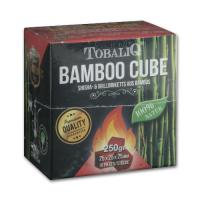 Wasserpfeifenkohle TOBALIQ Bamboo Cube 250 g