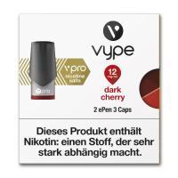 E-Zigarette VYPE ePen 3 Caps vPro Dark Cherry 12mg 2 Caps