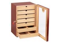 Humidor-Schrank mit Acryltüre für ca. 150 Cigarren