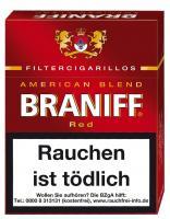 Braniff Naturdeckblatt Red