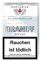 Braniff Naturdeckblatt Silver Exclusive