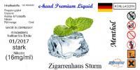 Menthol Sturm 10ml 12 mg/ml