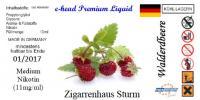 E-Head eLiquid Waldbeere Sturm 10ml