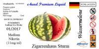 Wassermelone Sturm 10ml 6 mg/ml