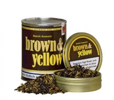 John Aylesbury Brown & Yellow Dose