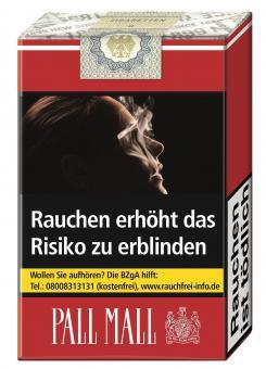 Pall Mall ohne Filter Zigaretten