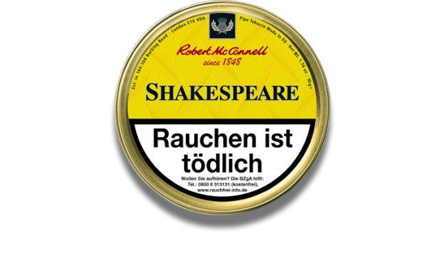 McConnell - Heritage - Shakespeare 50g