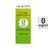 """ego green """"Schwarze Johannisbeere"""" - eLiquid"""