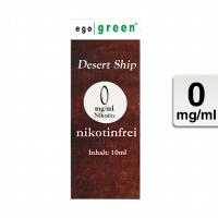 "ego green ""Desert Ship Tobacco"" - eLiquid"