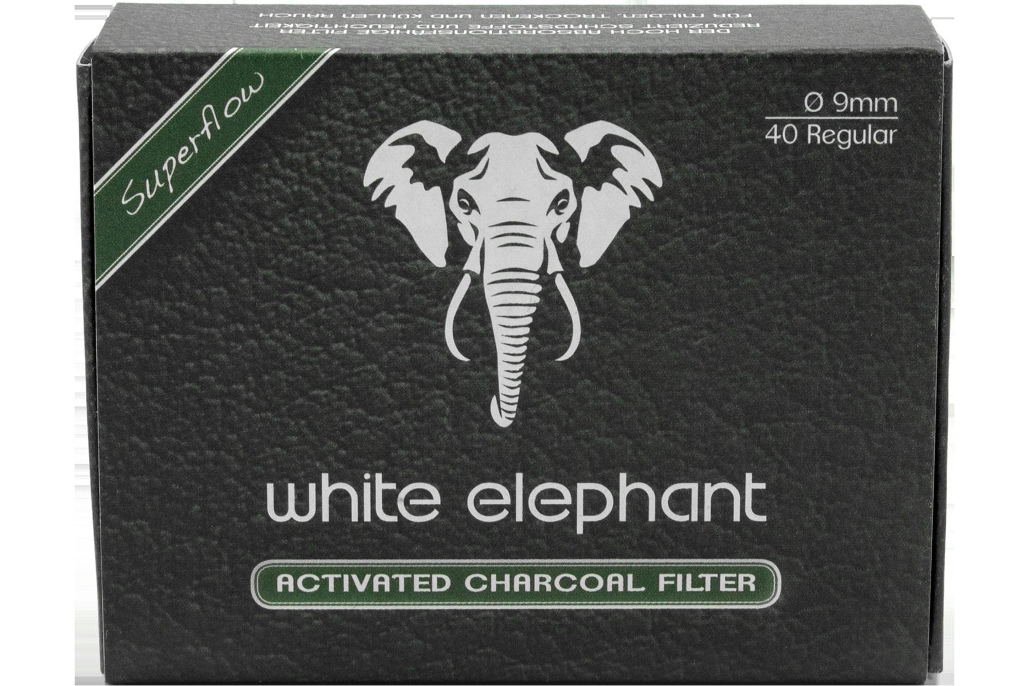Zigarrenhaus Sturm   White Elephant 20 Activated Charcoal Filter 20mm    Tabak, Kautabak, Zigarren, Zigaretten, Zigarillos, Wasserpfeifen,  Schnupftabak, ...